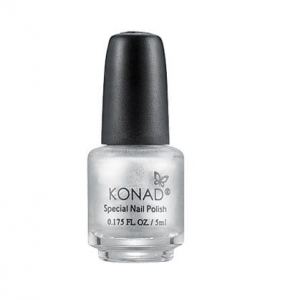 Konad lakier do stempli srebrny 5ml