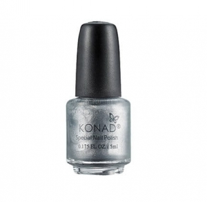 Konad lakier do stempli srebrny - Powder Silver 5ml