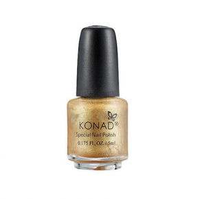 Konad lakier do stempli zloty Powdery Gold 5ml