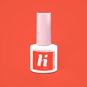Lakier hybrydowy hi hybrid 5 ml  Flashing Orange #237