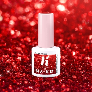 Lakier hybrydowy hi hybrid 5 ml Red Elements #203